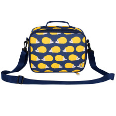 Kissing Hedgehogs Insulated Lunch Bag
