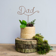 Dad Wire Cake Topper