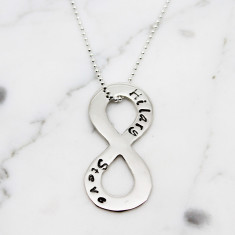 Personalised Infinity Symbol Necklace