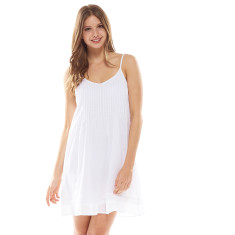 Belize Dress White