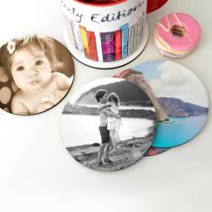 Personalised Photo Coasters (Set of 8)