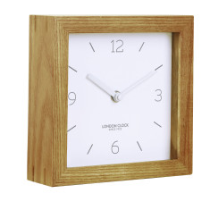 London Clock Company Tid Solid Wood Mantel Clock