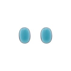 Petite turquoise studs