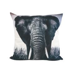 Wild Elephant Cushion