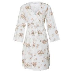 Vintage rose kimono robe