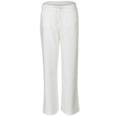Classic linen trousers in white