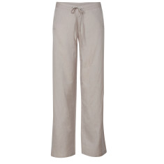 Classic linen trousers in smoke
