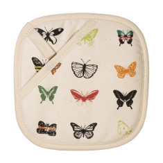 Natural Butterfly Pot Holder