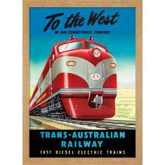 Trans-Australian Railway Print