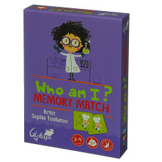 Who am I? memory match game