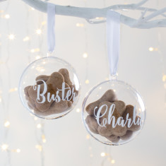 Personalised Pet Treat Bauble