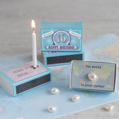 Coming Of Age Happy Birthday Greeting In A Matchbox (16, 17, 18, 19, 20, 21)