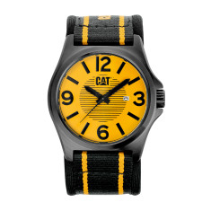 CAT DP series watch in yellow & black