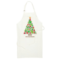 Personalised Australiana Christmas Apron