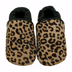 Growl into the wild leather baby shoes