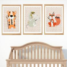 Choose your own adventure animal prints (set of 3)