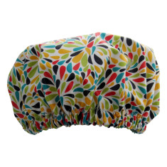 Wildflowers shower cap