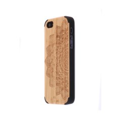 Wild wood bamboo and polycarbonate iPhone 5/5S case