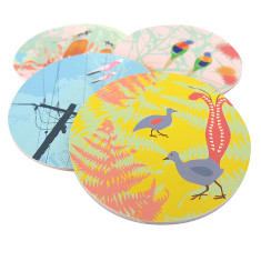 Wings III coasters (set of 4)