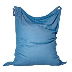 Big indoor/outdoor beanbag in Light Denim