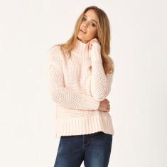 Chunky rib knit