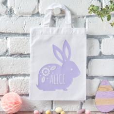 Rabbit Easter Egg Hunt Bag