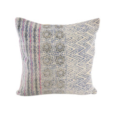 Kilim Collection: Pink Aztec Cushion