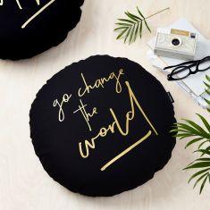Change The World Cushion