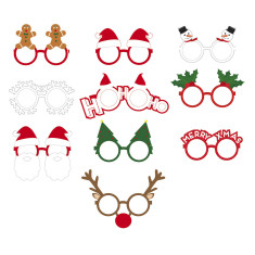 DOIY Xmas party glasses (pack of 10)