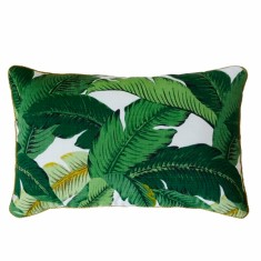 Bahama palm indoor/ outdoor decorator cushion