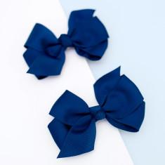 Bright grosgrain hair bow clips (bright colours)