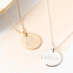 Personalised My Little Prince/Princess Necklace
