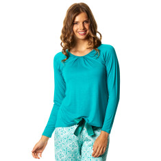 Fly Away Top in Teal