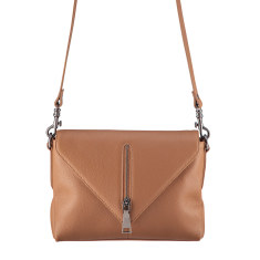 Exile leather bag in tan
