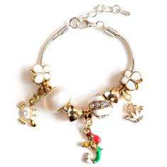 Children's mermaid charm bracelet