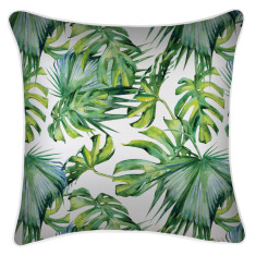 Outdoor Cushion Cover-Botanical Natural (various sizes)