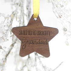Shining Bright Grandad Memory Decoration