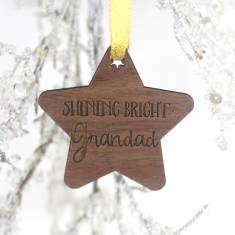 Shining Bright Grandad Memory Decoration