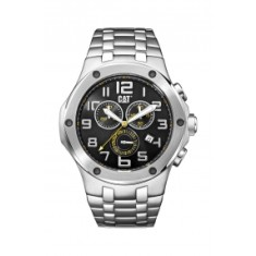 CAT NAVIGO Chrono series watch in stainless steel plus free gift
