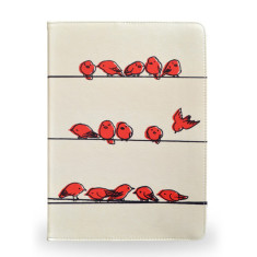 Hanging Out Birds iPad Tablet Folio Case