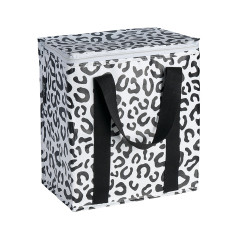 Insulated Cooler bag in Leopard print