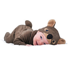 Lil' wombat baby and toddler costume with hat