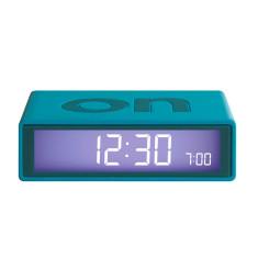 Flip Alarm Clock in Green-Blue
