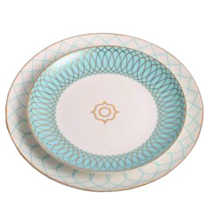 Wonderland dinner set