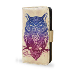 Warrior Owl Smartphone Wallet Case
