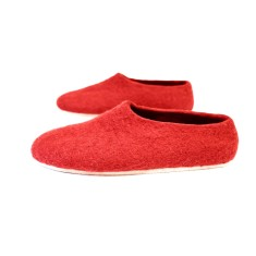 Women's felt slippers Red Fiesta