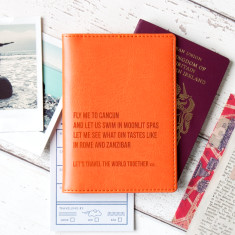 World Destinations Personalised Passport Holder