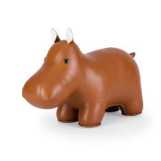 Zuny doorstop classic hippo tan