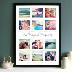 Personalised Polaroid Inspired Photo Collage