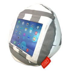 HAPPYtab iPad Cushion in Amalfi Grey